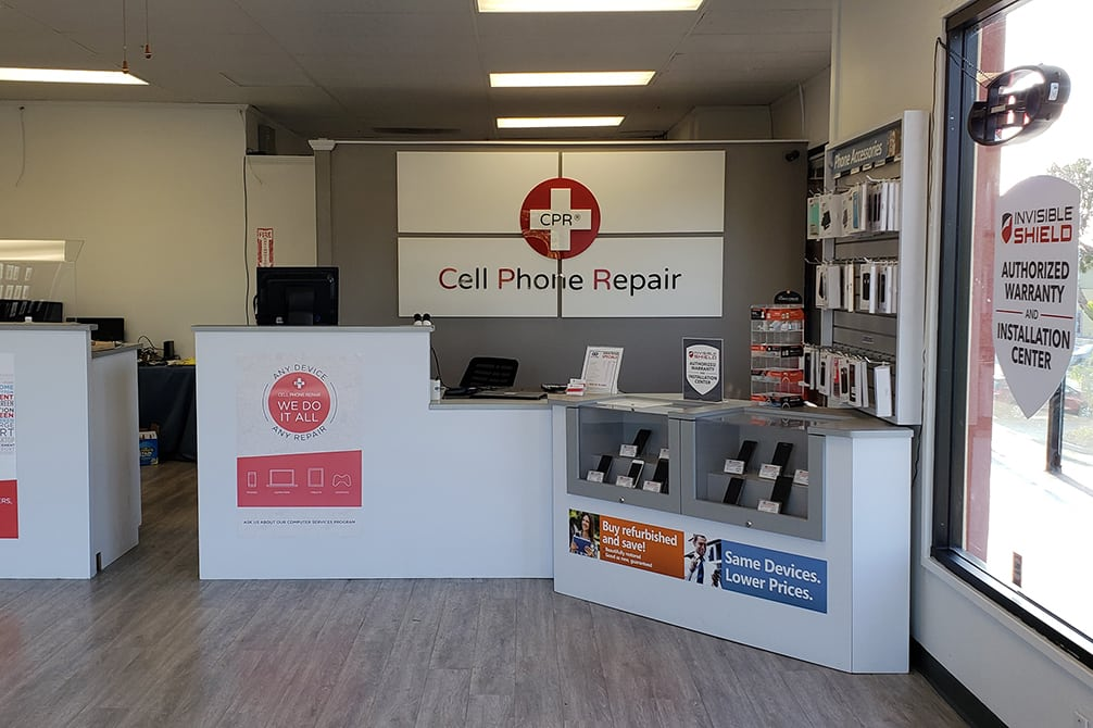 CPR Cell Phone Repair Anaheim Hills CA - Store Interior