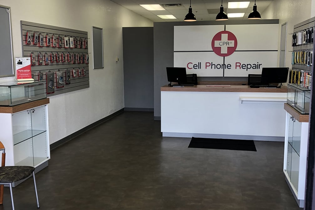 CPR Cell Phone Repair Anthem AZ - store interior