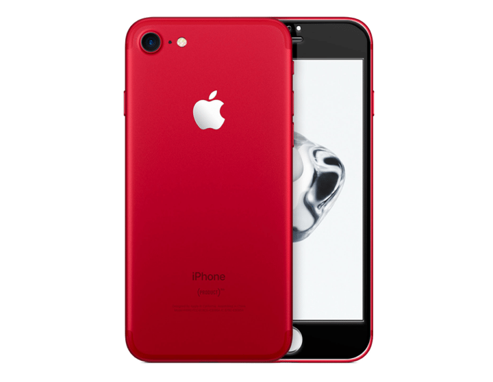 red iphone 7 needing fixed