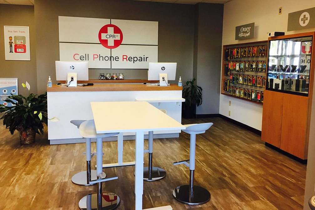 CPR Cell Phone Repair Charlotte - University City NC - Store Interior