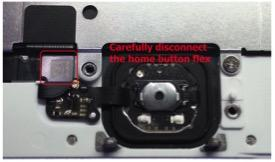iphone 6 home button connection annotated