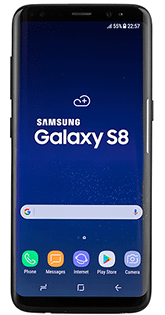 damaged samsung galaxy s8 needing fixed