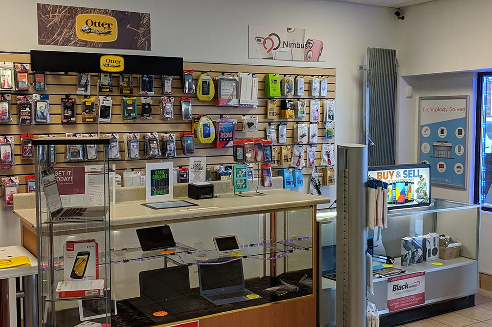 Image of cell phone accessories Fayetteville Raeford Road NC