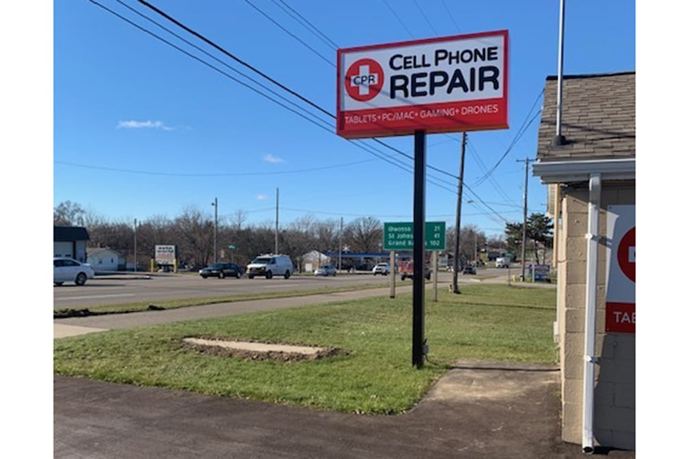 CPR Cell Phone Repair Flint MI - store directions