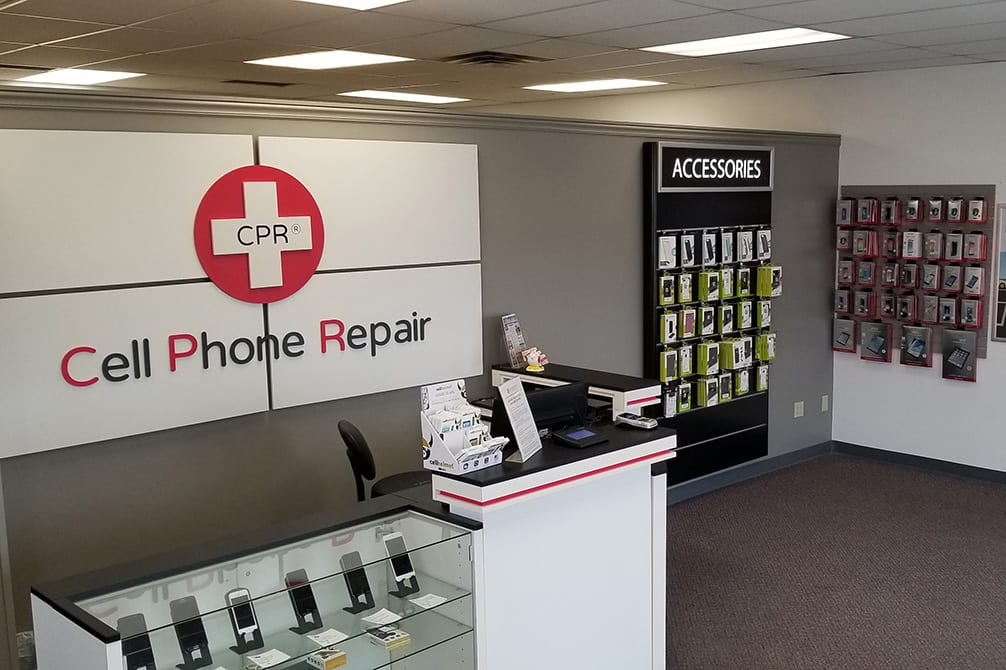 CPR Cell Phone Repair Grand Forks - store interior