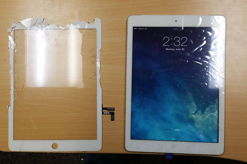 Image of iPad repair Grand Forks ND
