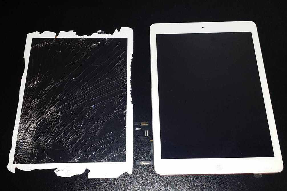 Image of iPad screen repair Grand Forks ND