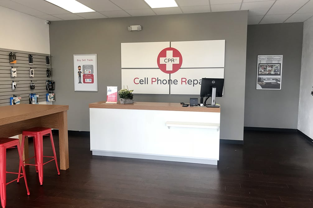 CPR Cell Phone Repair Greensburg PA - Store Interior