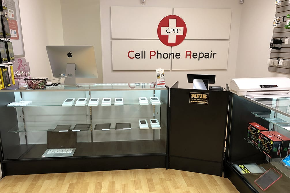CPR Cell Phone Repair Indian Trail NC - store interior