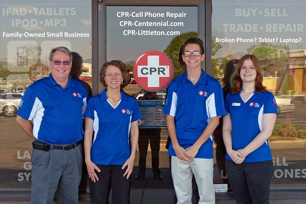 Image of CPR Cell Phone Repair Littleton CO Team