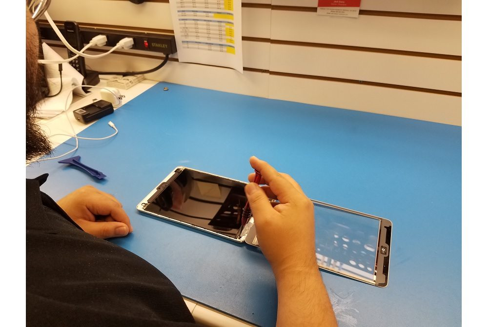 image of ipad repair at CPR Matthews NC