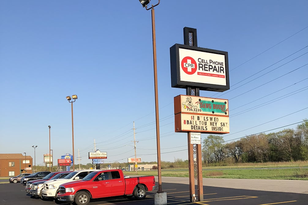 image of directions to cpr cell phone repair Merrillville IN