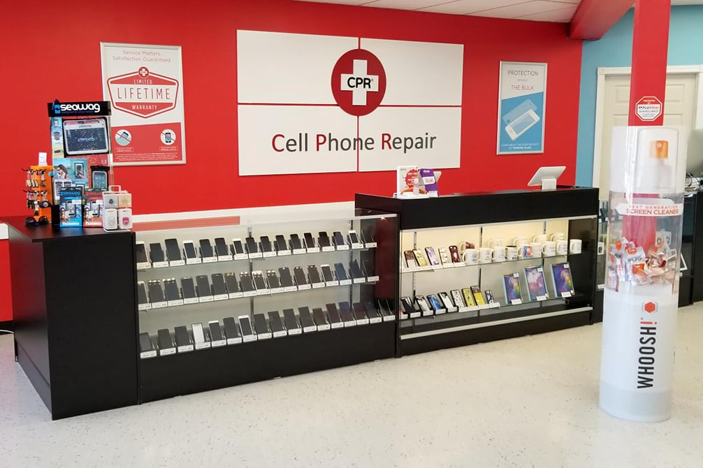 CPR Cell Phone Repair Moncton NB - Store Interior