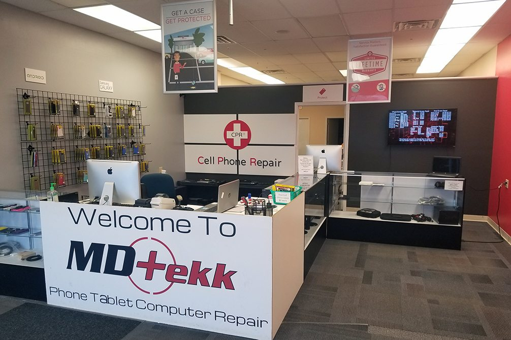 CPR Cell Phone Repair Muncie Mall Plaza IN - Store Interior