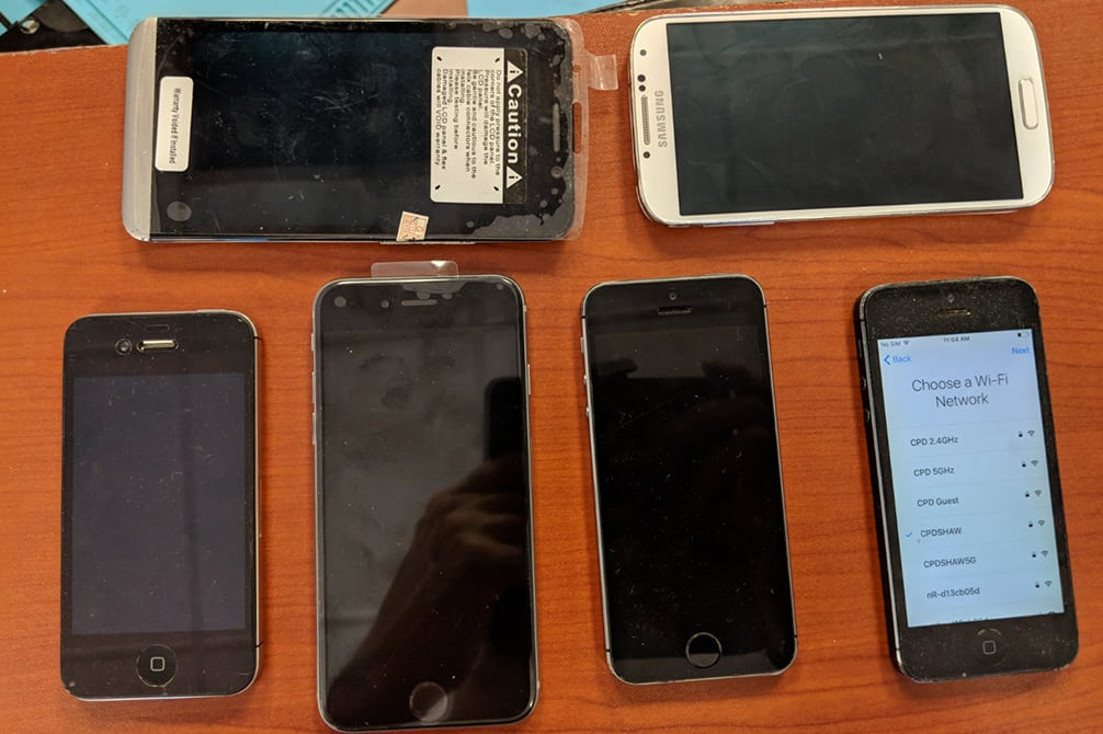 image of smartphone repair North Calgary AB