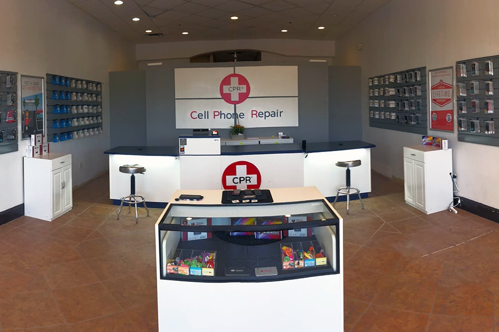 CPR Cell Phone Repair Phoenix Ahwatukee AZ - Store Interior