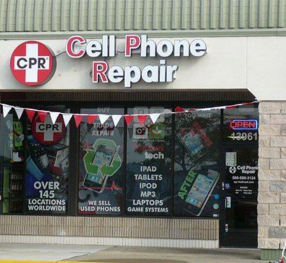 cell phone repair shelby township