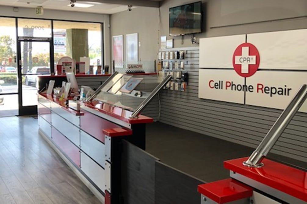 CPR Cell Phone Repair Simi Valley CA - store interior
