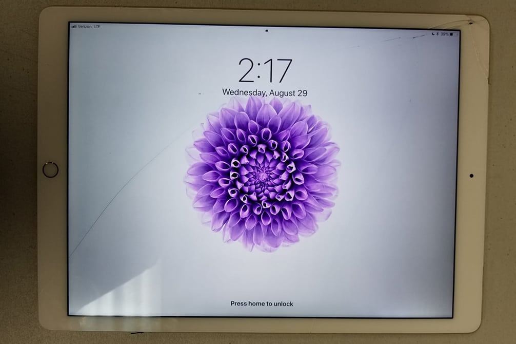 Image of iPad repair Simi Valley CA