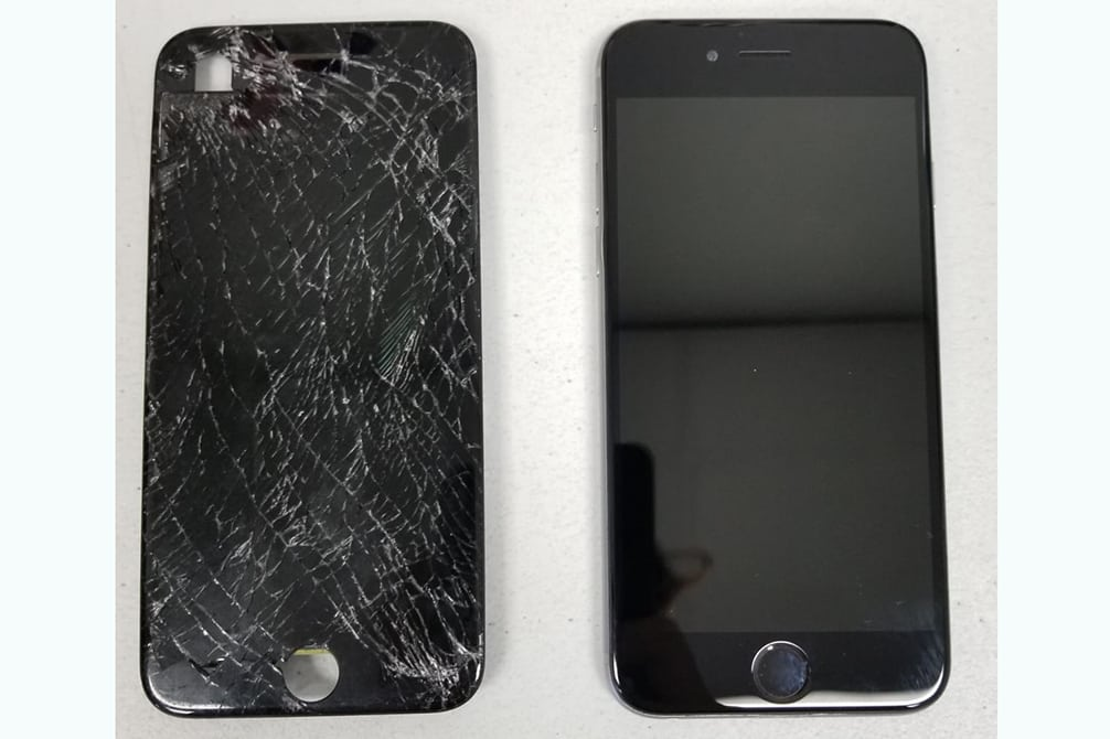 Image of iPhone screen repair Simi Valley CA