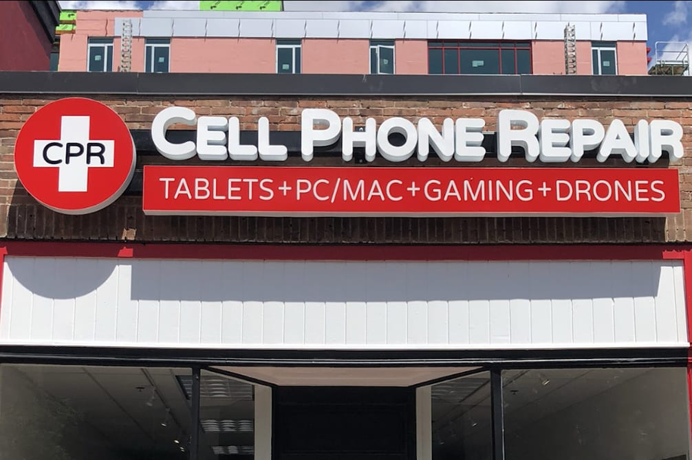 Image of CPR Cell Phone Repair Syracuse NY Storefront