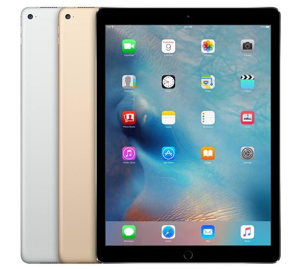 image of an ipad tablet
