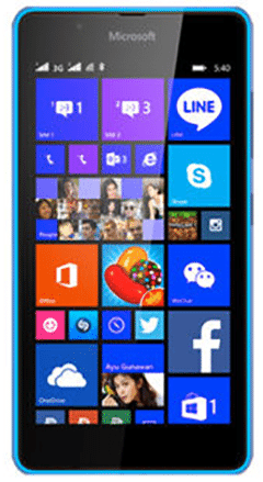 damaged Microsoft lumia 540 needing repair