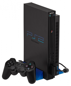broken playstation 2 needing repair