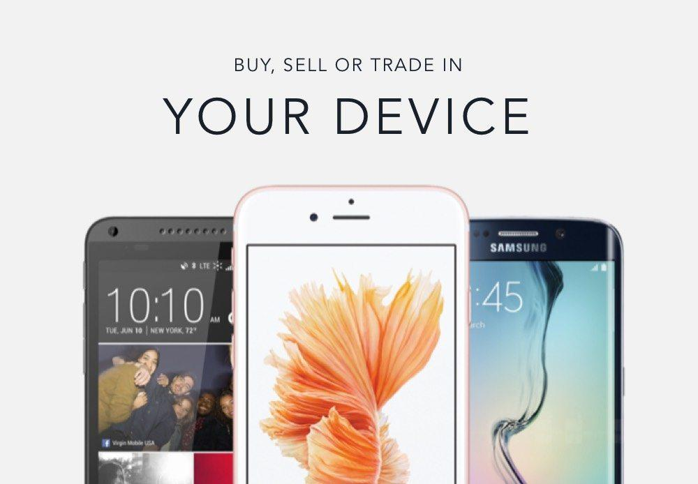 buy, sell, or trade in your device