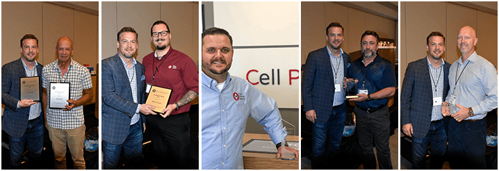 winners of the 2018 annual conference awards