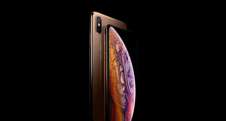 new gold finish on iphone xs max