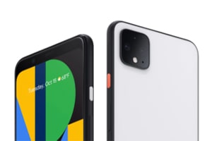 Google Pixel 4 and 4 XL side by side