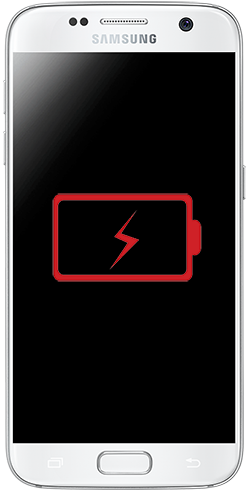 samsung galaxy s7 drained battery image