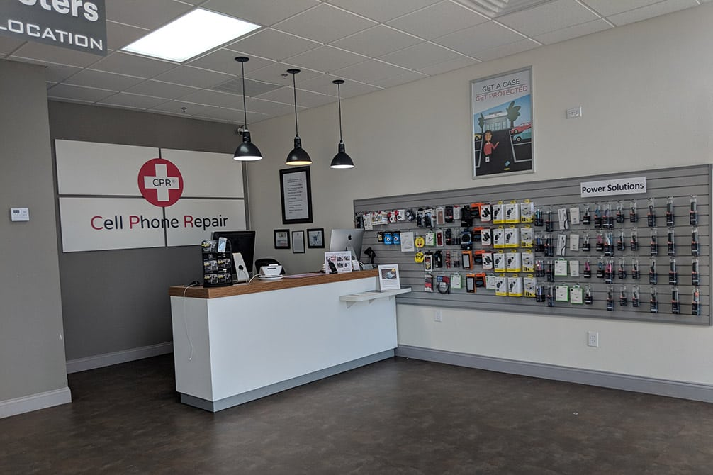 cpr cell phone repair wylie tx - store interior